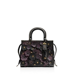 COACH 1941 Rogue 25 in Glovetanned Pebble Leather with Tea Roses