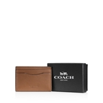 COACH Boxed Leather Card Case